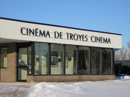 Troyes Cinema building